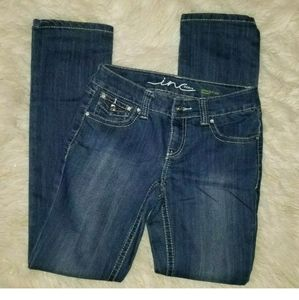 INTERNATIONAL CONCEPT DENIM SIZE 2 STRAIGHT LEG
